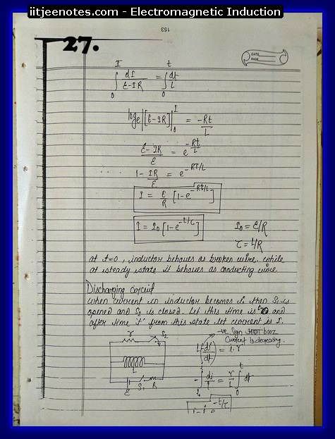 Electromagnetic Induction Notes cbse3