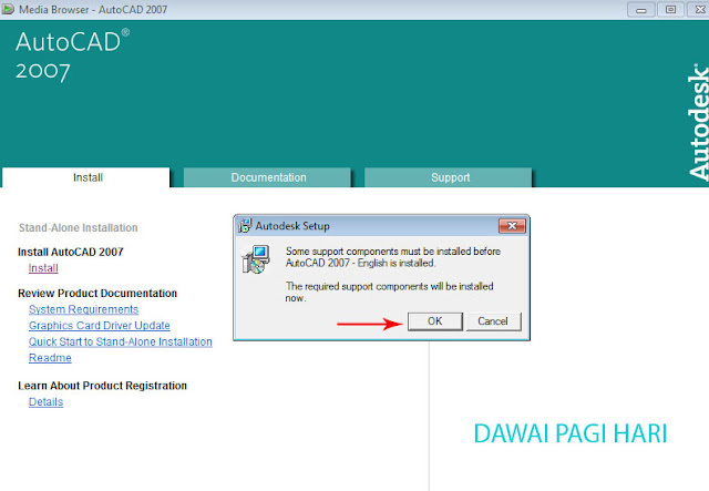 Cara Install Autocad di Windows 7
