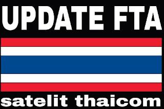 Frekuensi Channel FTA Satellite Thaicom Terbaru 2016