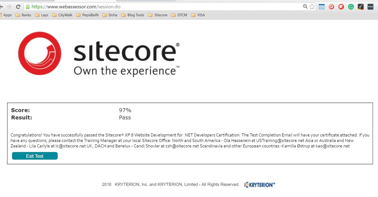 Sitecore Journey: Sitecore Journey Has A New Milestone: Sitecore XP ...