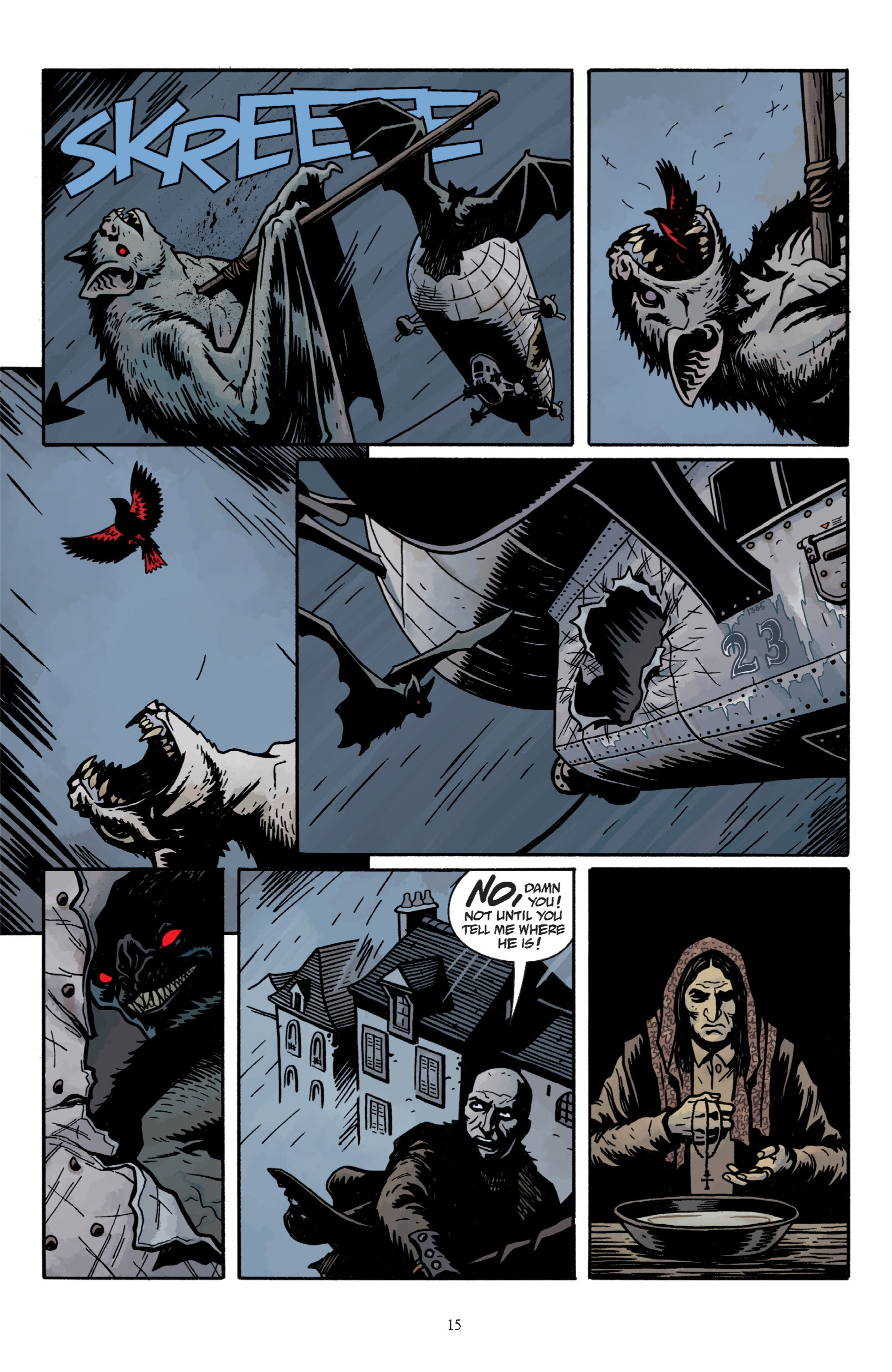 Read online Baltimore: The Plague Ships comic -  Issue # TPB - 17