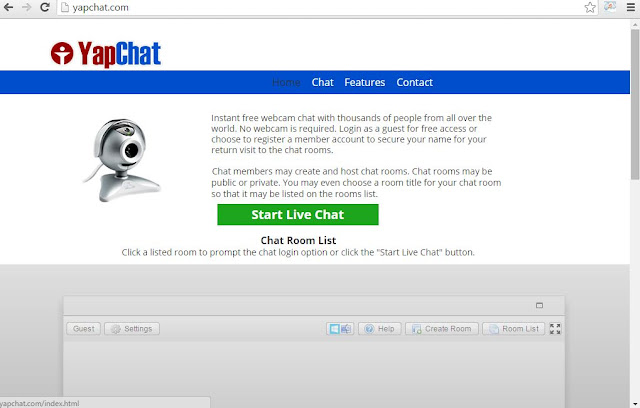 yapchat free website for chatting with random strangers online when bored