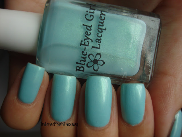 Blue-Eyed Girl Lacquer - Monster's Tea at Tiffany's