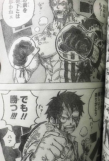 Spoiler One Piece Chapter 893
