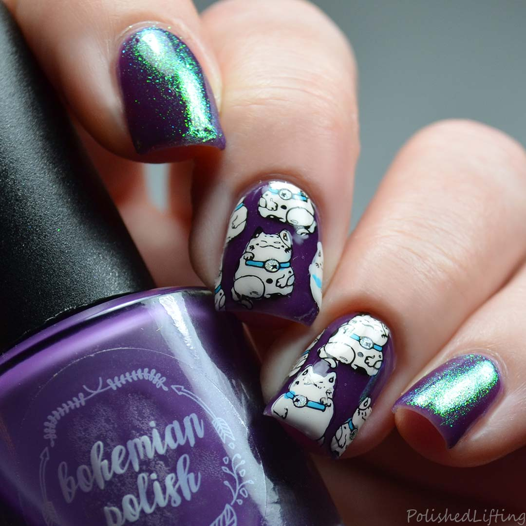 Polished Lifting: Lucky Cat Stamping feat. Born Pretty Store | Digit ...