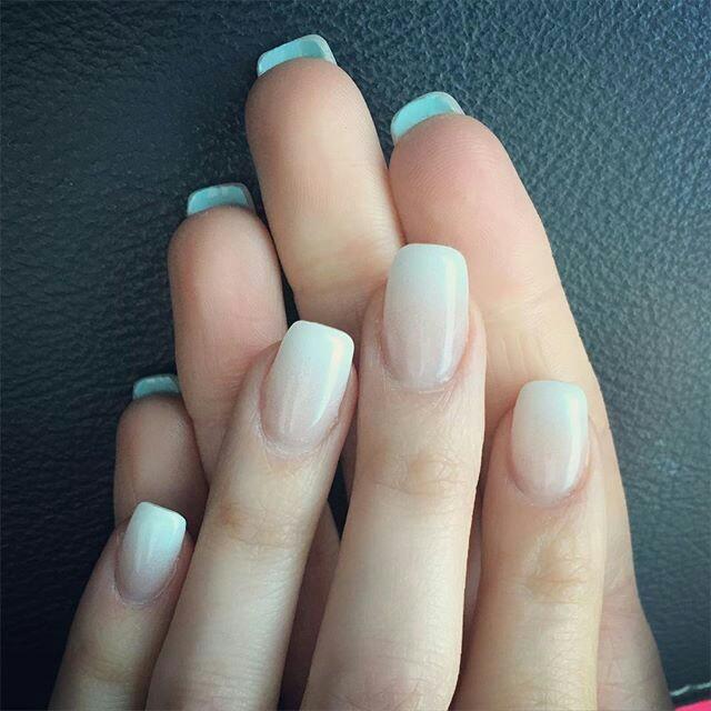 Fαshiση Gαlαxy 98 ☯: Soft White Wedding Nail Art
