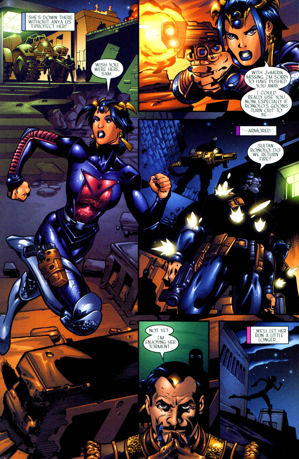 Read online Sigil (2000) comic -  Issue #11 - 17