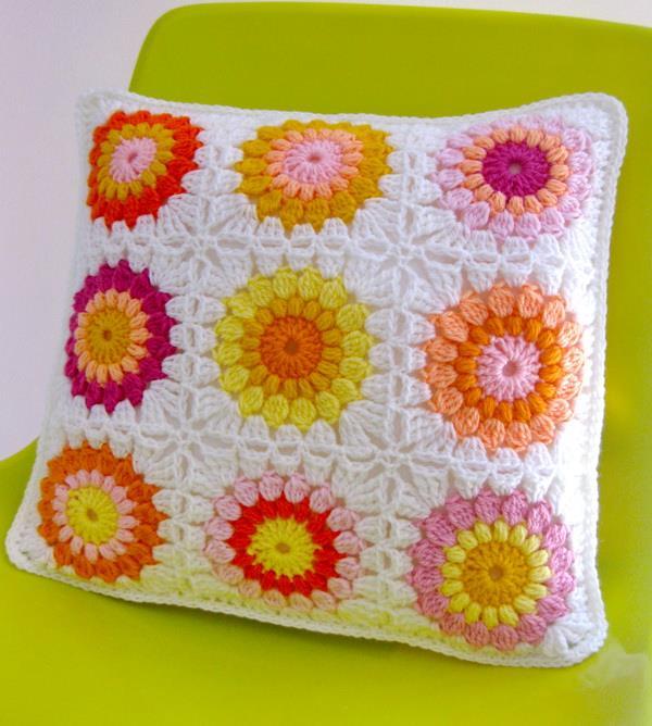 Crochet Sunburst-Granny-Square