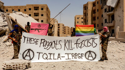 After three years of stonings and executions from rooftops, first LGBT unit fights ISIS in Syria