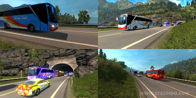Traffic bus ets2 1.25