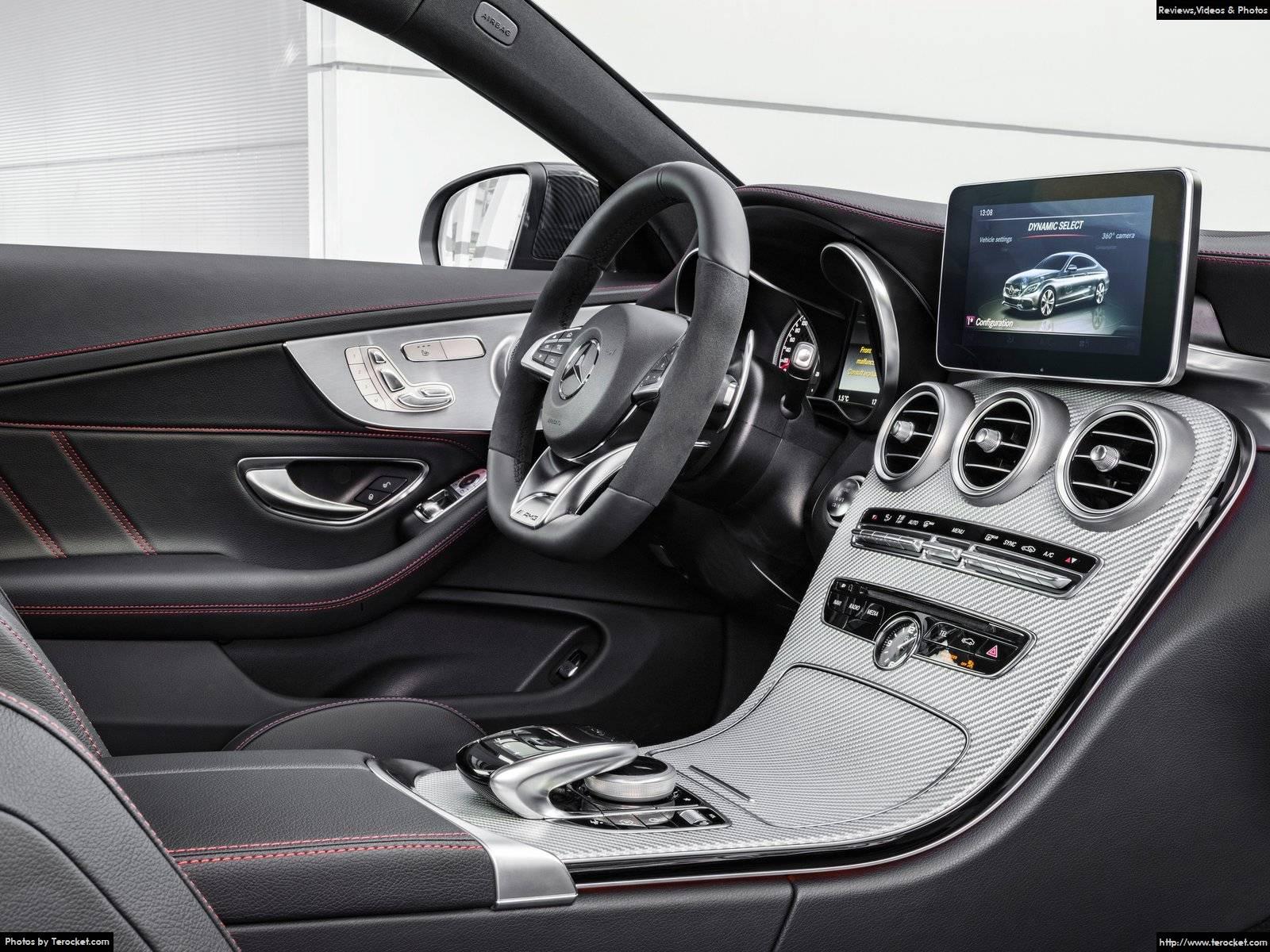 Hình ảnh xe ô tô Mercedes-Benz C43 AMG 4Matic Coupe 2017 & nội ngoại thất