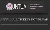 jntua-halltickets-download