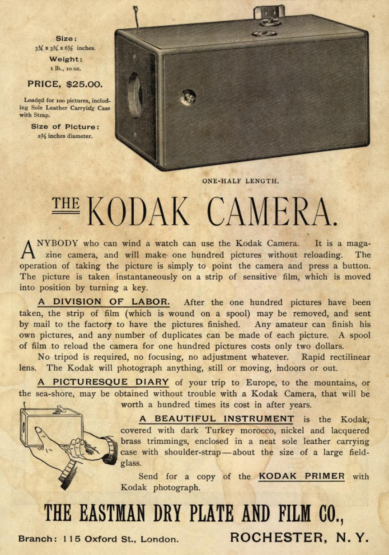 History of cameras essay