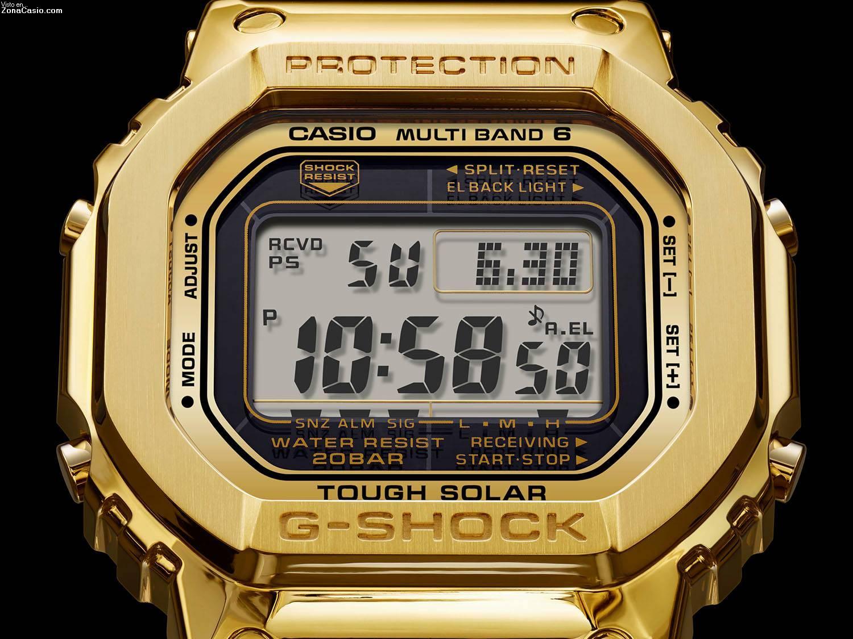 004008f85c2d Zona Casio  Las imágenes más alucinantes del G-Shock bañado en oro ...