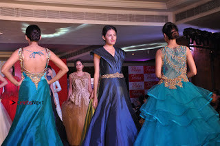 South Indian Celebrities Pos at Love For Handloom Collection Fashion Show  0156.jpg
