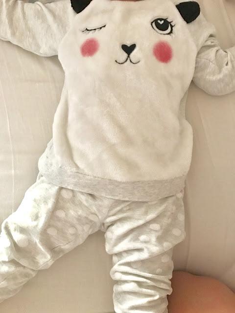 Pyjama panda H&M