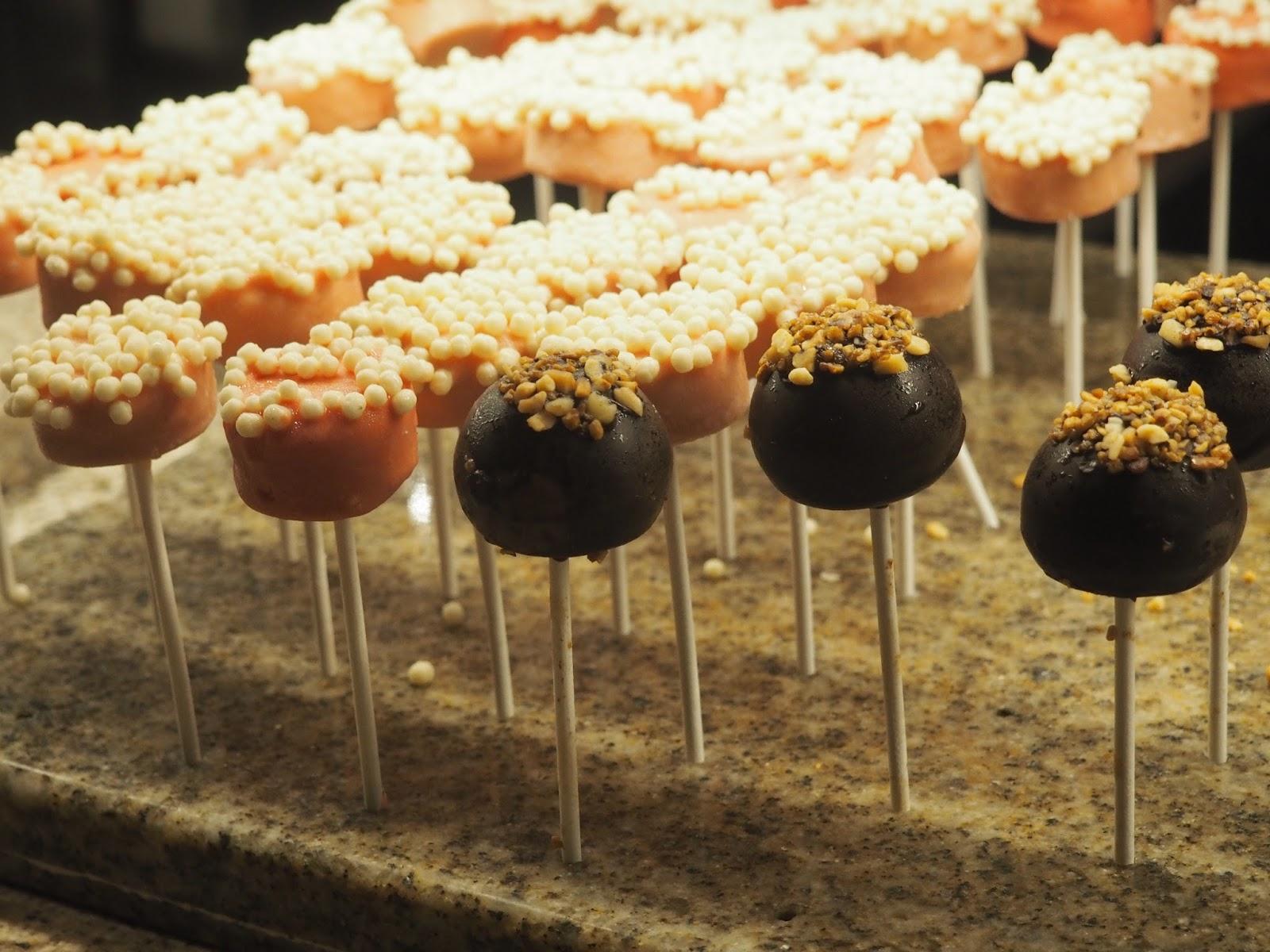 Cake pops at Baachanal Buffet at Caesar's Palace, Las Vegas
