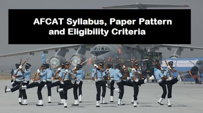 AFCAT Syllabus, Paper Pattern and Eligibility Criteria