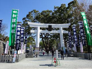 熊本城の加藤神社