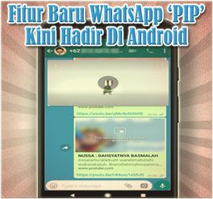 Fitur Baru WhatsApp PIP Kini Hadir Di Android