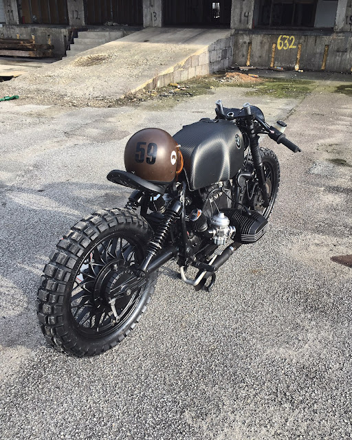 BMW R100RS 1981 By Relic Motorcycles Hell Kustom