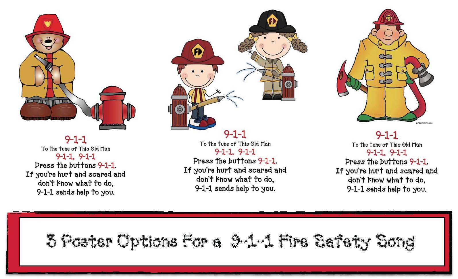 911 Fire Safety Songs