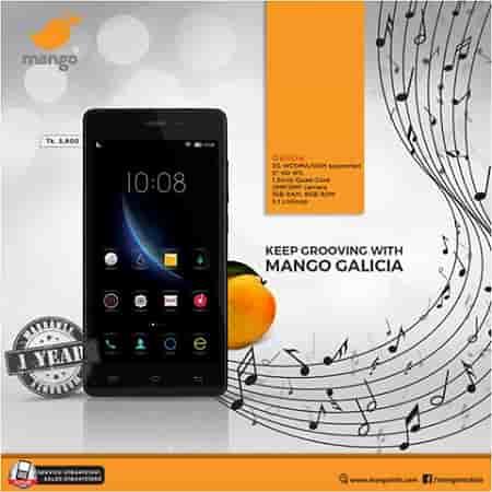 Mango Galicia Smartphone