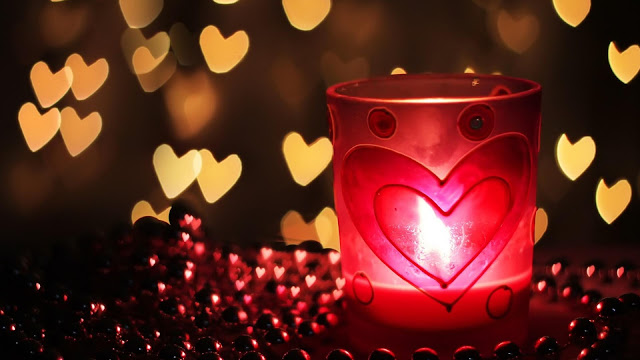 Love Heart Candles HD Wallpapers Pictures Download Free