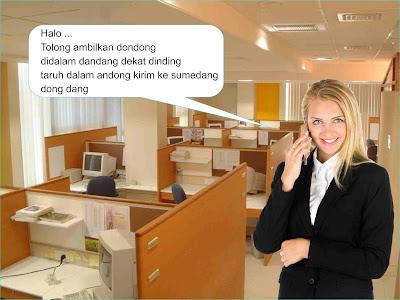 telepon atau sms