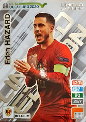 8662a10eb9f Panini - Adrenalyn XL Road to UEFA Euro 2020 (09) - 1001-1071 - Limited  Edition
