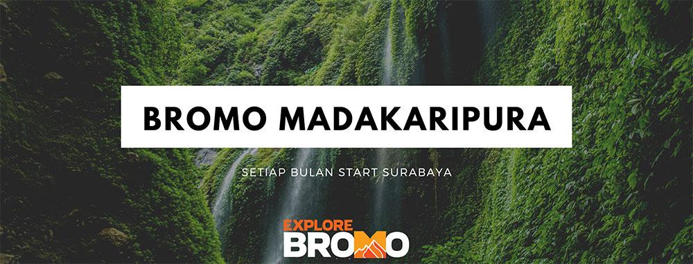 open trip bromo - air terjun madakaripura