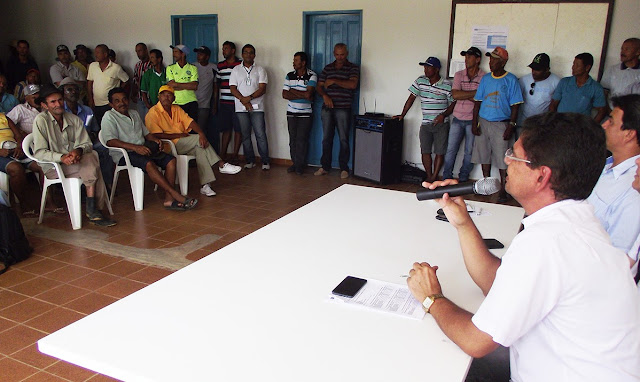 Codevasf orienta agricultores de projetos públicos em Alagoas sobre pagamento de dívida com lotes e tarifa de água