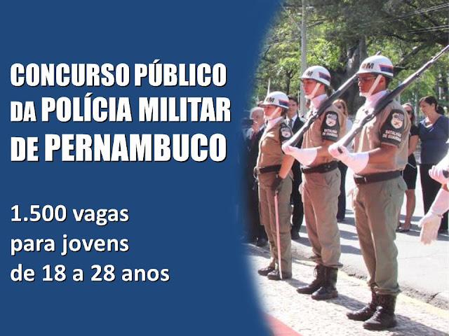 CONCURSO PÚBLICO DA POLÍCIA MILITAR DE PERNAMBUCO