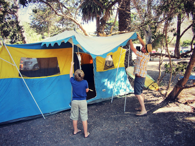 Sears Canvas Tent - Year of Clean Water