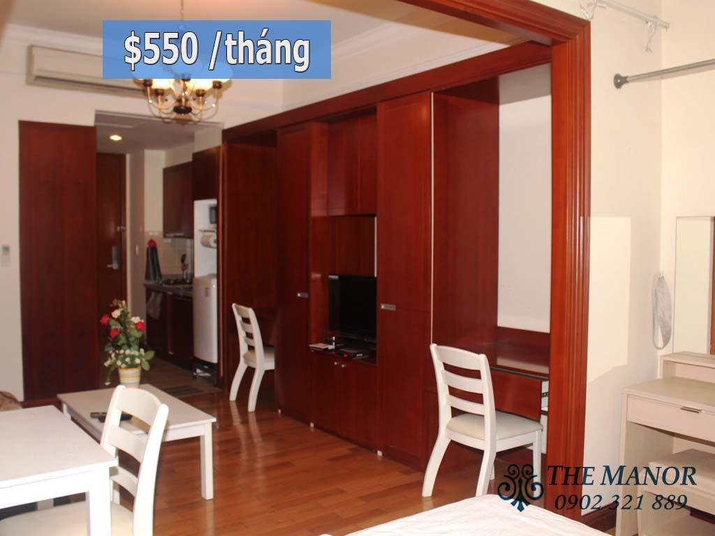 căn hộ studio giá rẻ The Manor quận Bình Thạnh