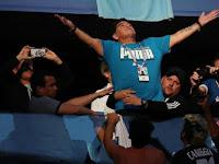 Diego Maradona Dilarikan ke Rumah Sakit Usai Tonton Argentina