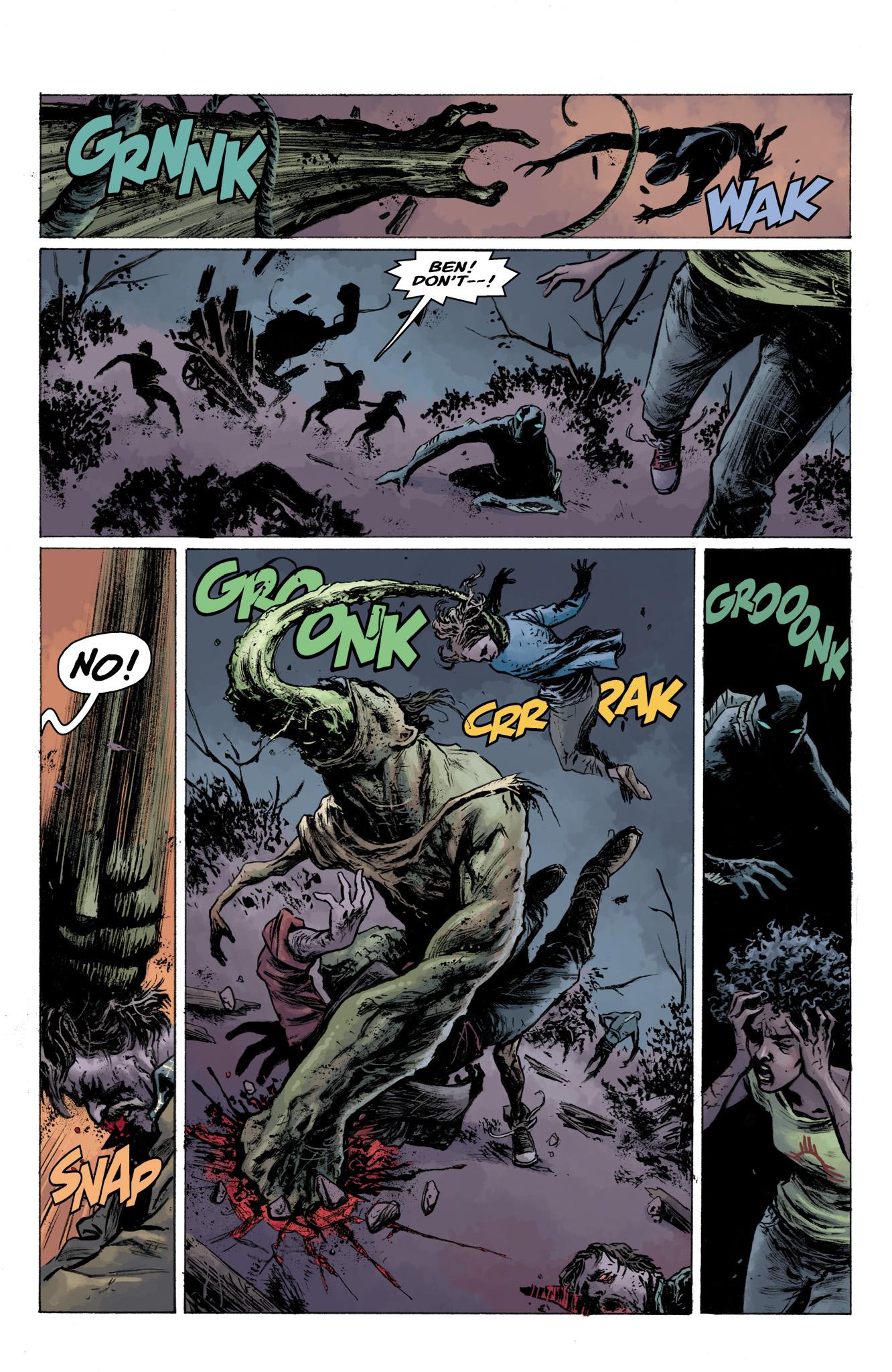 Read online Abe Sapien comic -  Issue #13 - 22