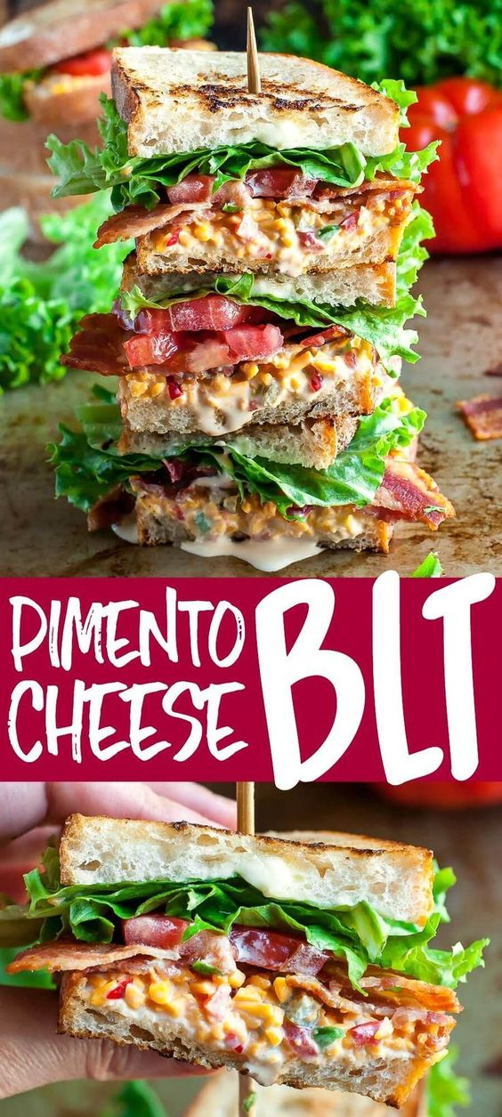 BLT Pimento Cheese Sandwich