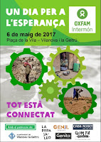 Un dia per a l'esperança. Intermón- Oxfam a Vilanova i la Geltrú