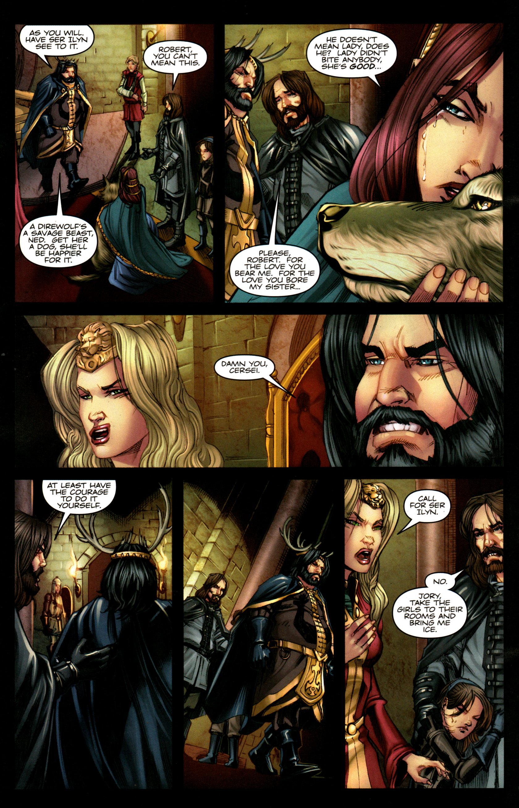 Read online A Game Of Thrones comic -  Issue #5 - 24