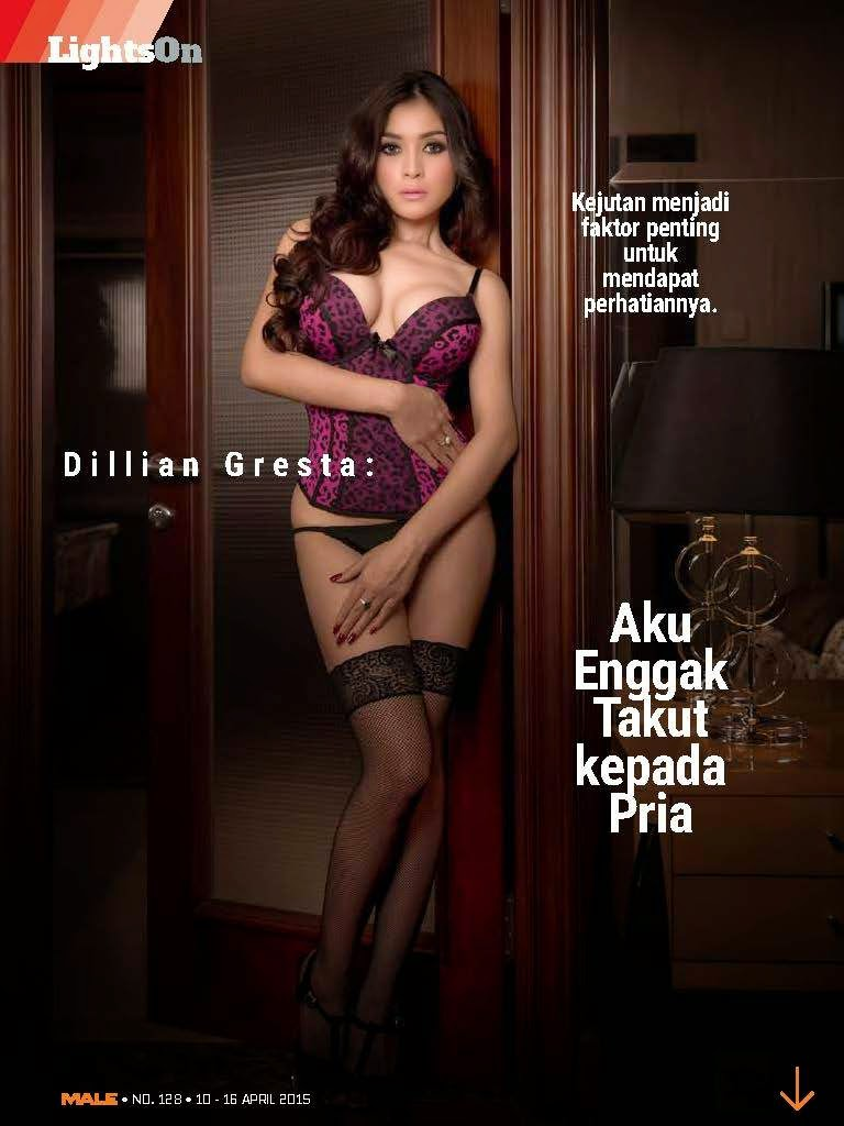 LIGHTS ON: Dillian Gresta Male Magazine
