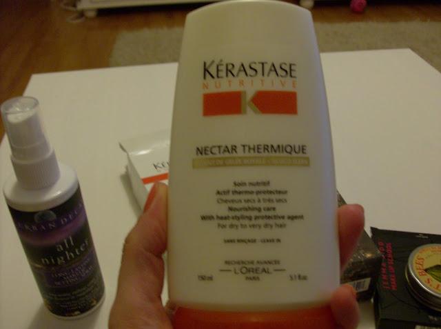 cumparaturi, shopping, cosmetice, machiaje, makeup, kerastase nectar thermique