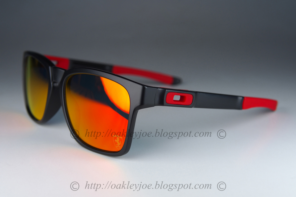 095c84f5789 oo9272-07 Catalyst Ferrari Asian Fit matte black + ruby iridium  250 lens  pre coated with Oakley hydrophobic nano solution complete package comes  with box ...