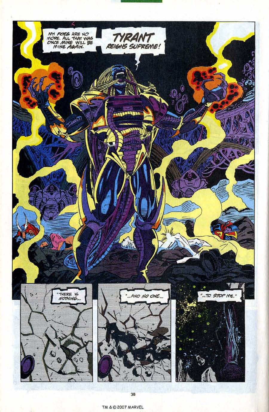 Read online Silver Surfer (1987) comic -  Issue #82 - 40