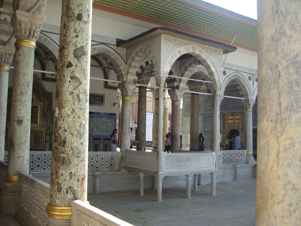 Palácio Topkapi Istambul Turquia