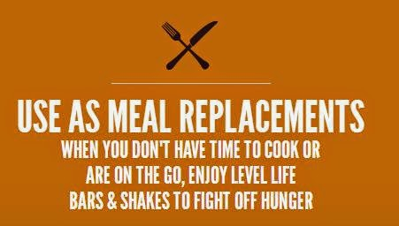 level life  meal replacement graphic