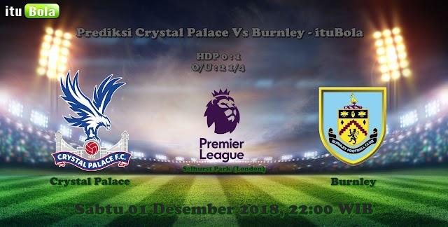 Prediksi Crystal Palace Vs Burnley - ituBola