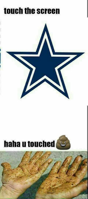 #nfl #Cowboys- Touch the screen - haha u touched