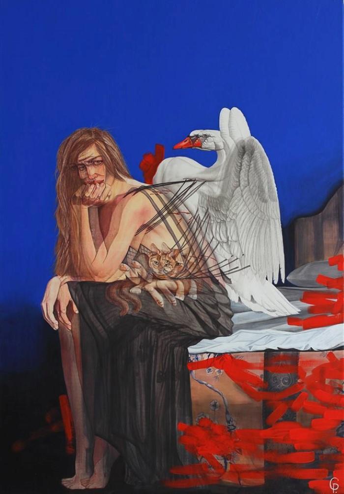 Казахский художник. Pavel Gempler