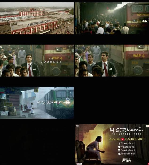 MS Dhoni The Untold Story Official Teaser 720p HD Download